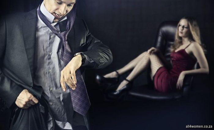 De ce un om cauta o amanta)
